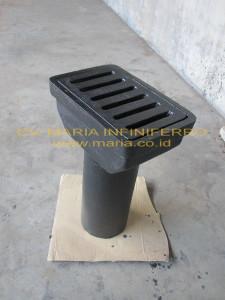 Deck Drain Cast Iron Medium