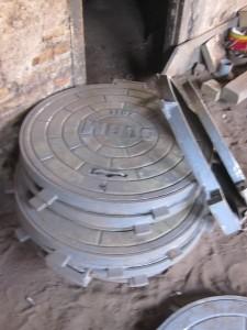 Manhole bulat 60 cm Frame bulat