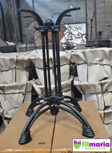 Kaki meja cafe cast iron vintage