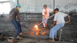 Industri pengecoran logam Ceper