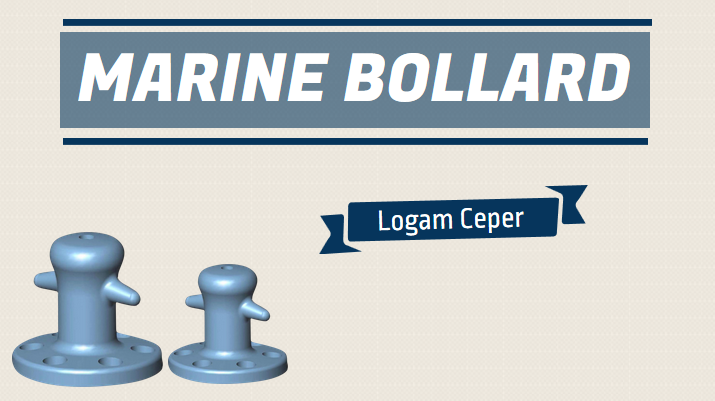 Marine Bollard Cast Iron (Penambat Tali Kapal Besi Cor)