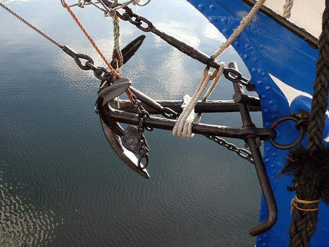 jangkar kapal besi cor