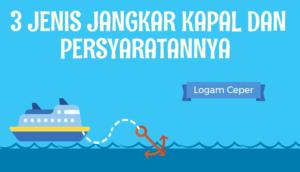 3 Jenis Jangkar Kapal dan Persyaratannya
